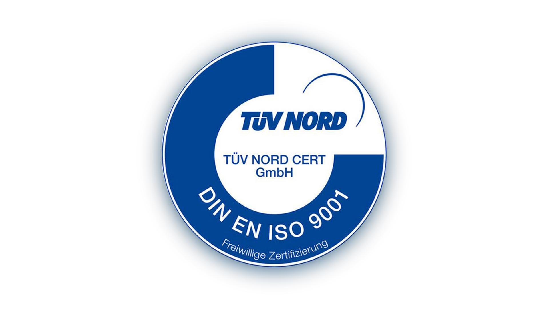 TÜV Nord, DIN EN ISO 9001 – Kinderhut ist jetzt offiziell ausgezeichnet